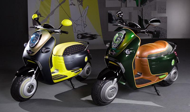 MINI Scooter E: Jednostopý koncept pro Paříž: - fotka 16