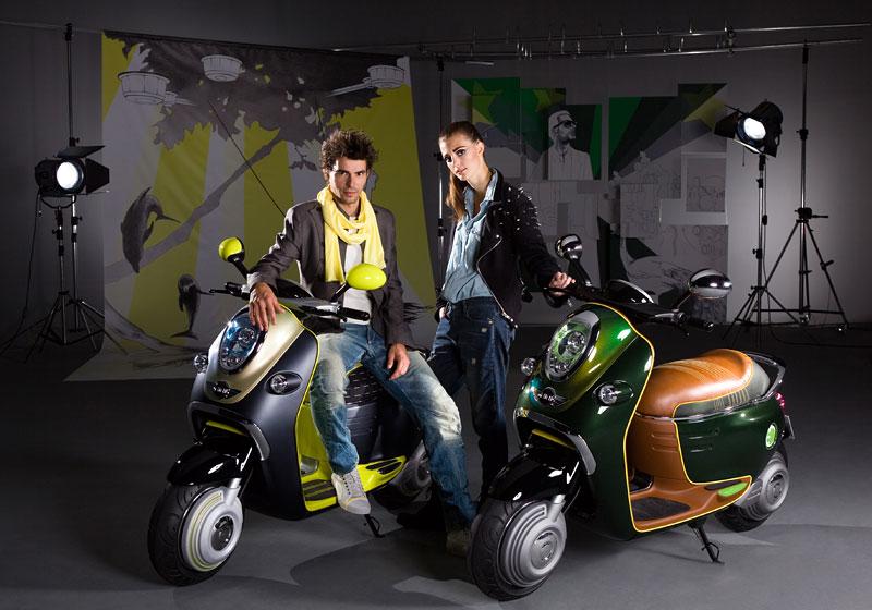 MINI Scooter E: Jednostopý koncept pro Paříž: - fotka 17