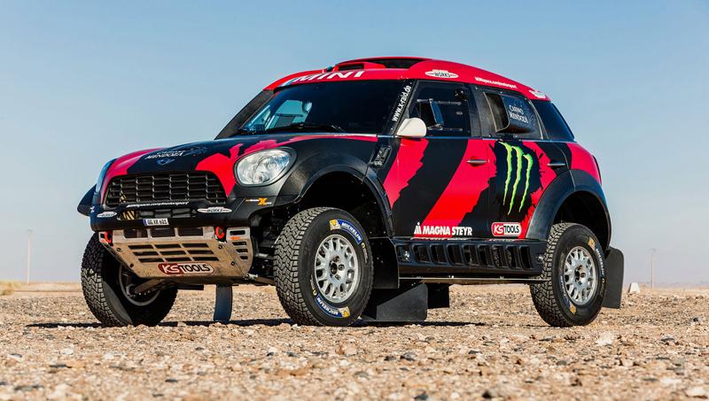 Mini vyrazí na Dakar 2015 s osmičkou aut: - fotka 28
