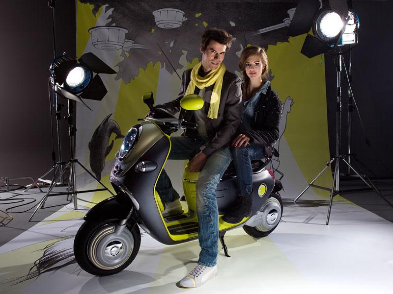 MINI Scooter E: Jednostopý koncept pro Paříž: - fotka 19