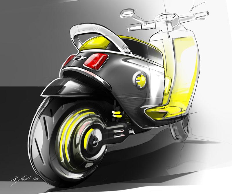 Mini představí v Paříži koncept elektrického skútru: - fotka 3