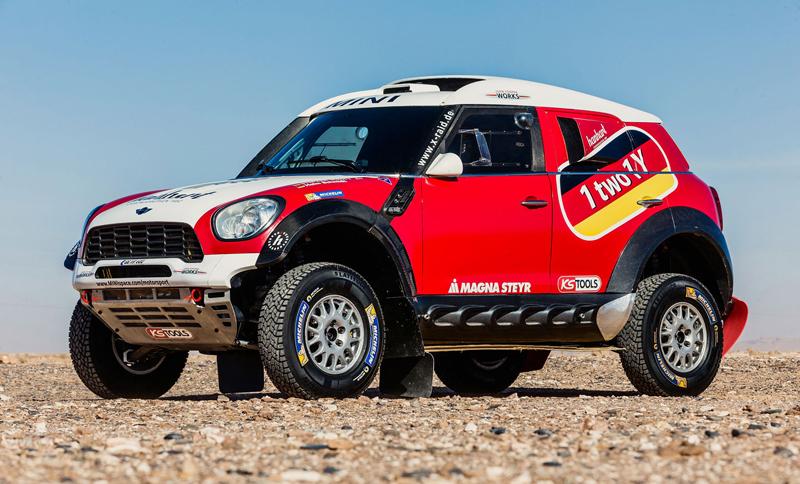 Mini vyrazí na Dakar 2015 s osmičkou aut: - fotka 41