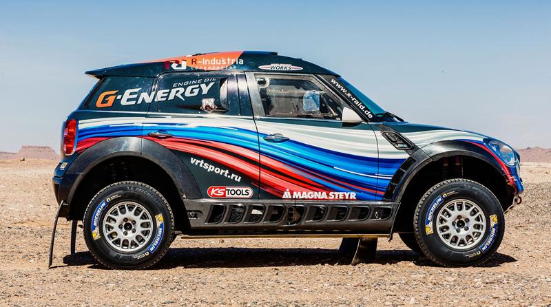 Mini vyrazí na Dakar 2015 s osmičkou aut: - fotka 43