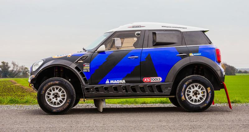 Mini vyrazí na Dakar 2015 s osmičkou aut: - fotka 48
