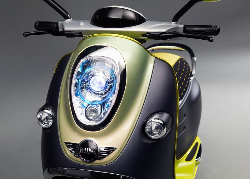MINI Scooter E: Jednostopý koncept pro Paříž: - fotka 23