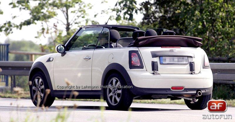 Spy Photos: Mini Cabrio: - fotka 4