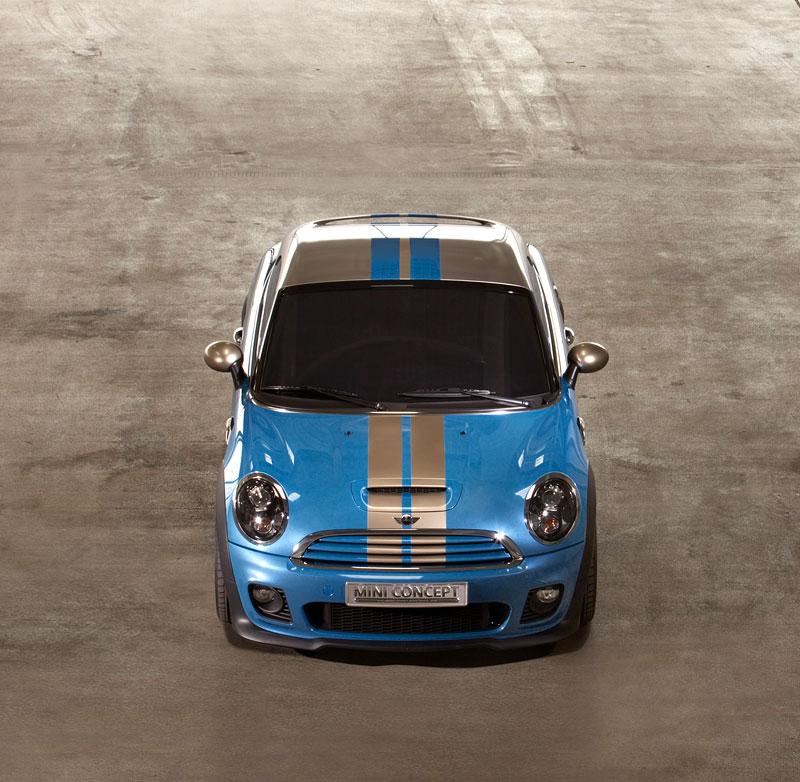 Frankfurt 2009: Mini Coupe Concept - dvě místa, 211 koní a fůra fotek: - fotka 7