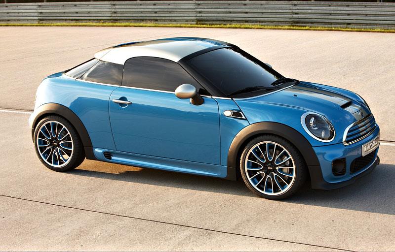 Frankfurt 2009: Mini Coupe Concept - dvě místa, 211 koní a fůra fotek: - fotka 15