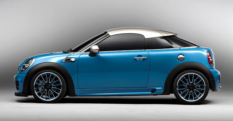 Frankfurt 2009: Mini Coupe Concept - dvě místa, 211 koní a fůra fotek: - fotka 18