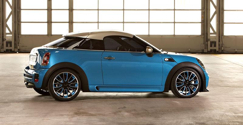 Frankfurt 2009: Mini Coupe Concept - dvě místa, 211 koní a fůra fotek: - fotka 20