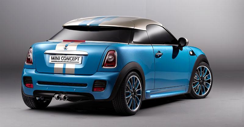 Frankfurt 2009: Mini Coupe Concept - dvě místa, 211 koní a fůra fotek: - fotka 26