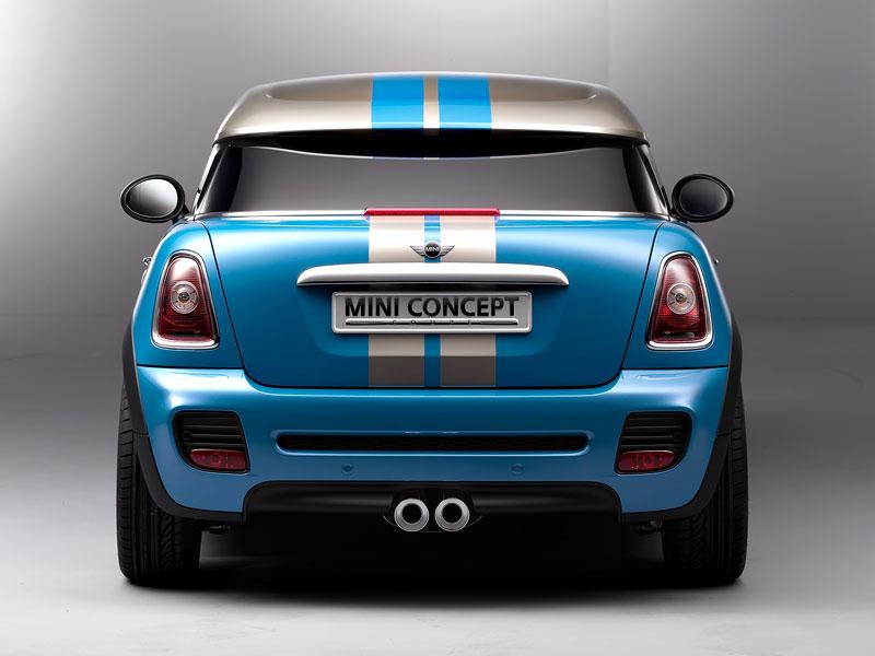 Frankfurt 2009: Mini Coupe Concept - dvě místa, 211 koní a fůra fotek: - fotka 30