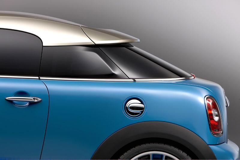 Frankfurt 2009: Mini Coupe Concept - dvě místa, 211 koní a fůra fotek: - fotka 32