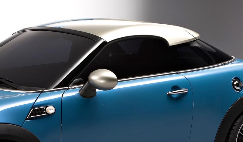 Frankfurt 2009: Mini Coupe Concept - dvě místa, 211 koní a fůra fotek: - fotka 34