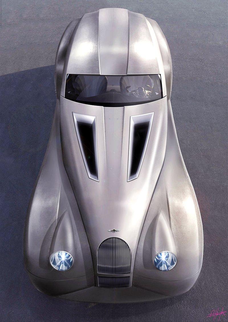 LIFECar2: Morgan plánuje výrobu dieselelektrického hybridu: - fotka 5