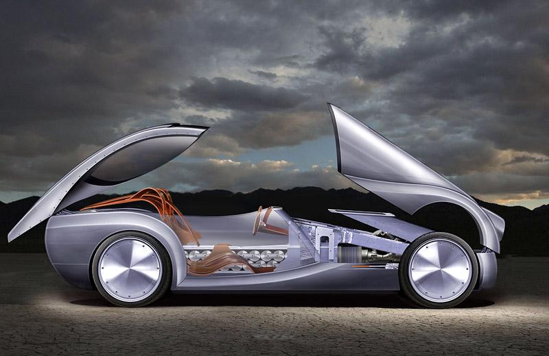 LIFECar2: Morgan plánuje výrobu dieselelektrického hybridu: - fotka 9