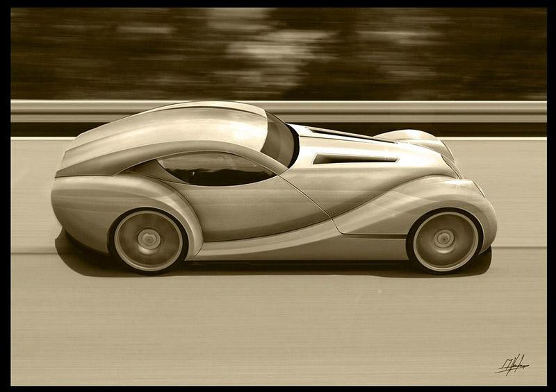 LIFECar2: Morgan plánuje výrobu dieselelektrického hybridu: - fotka 11