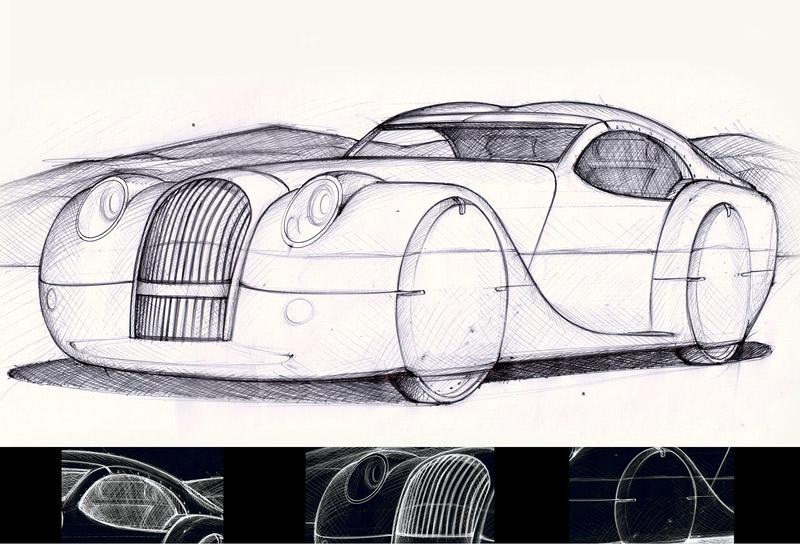 LIFECar2: Morgan plánuje výrobu dieselelektrického hybridu: - fotka 19