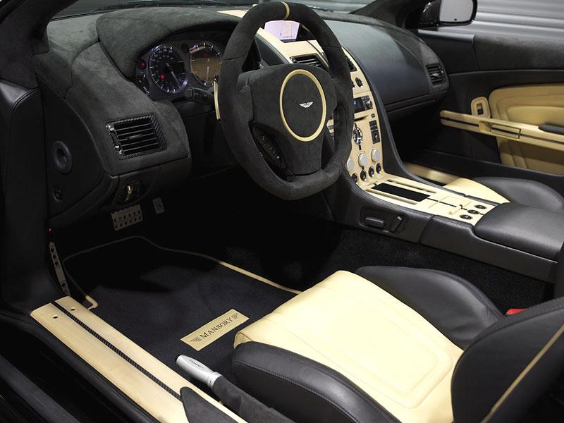 Aston Martin DB9: úpravy od Mansory pro kupé i Volante: - fotka 3