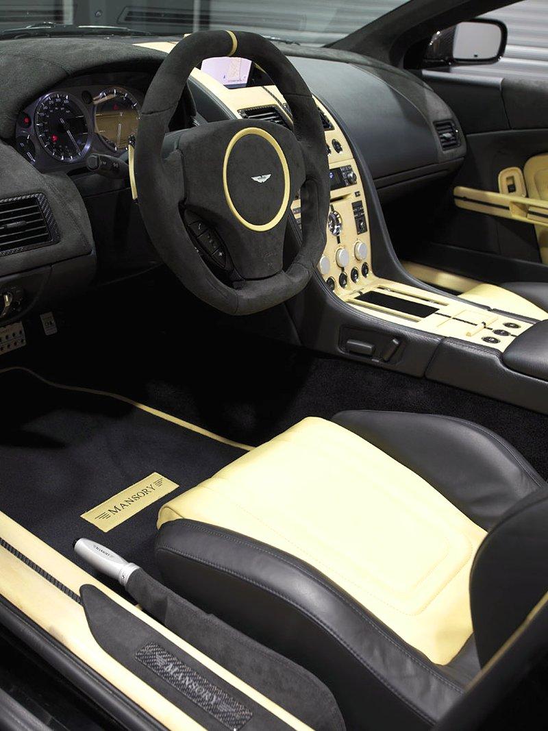Aston Martin DB9: úpravy od Mansory pro kupé i Volante: - fotka 4
