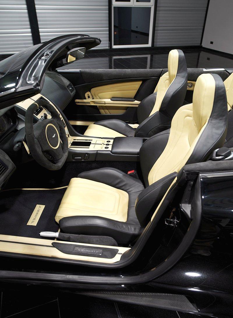 Aston Martin DB9: úpravy od Mansory pro kupé i Volante: - fotka 7