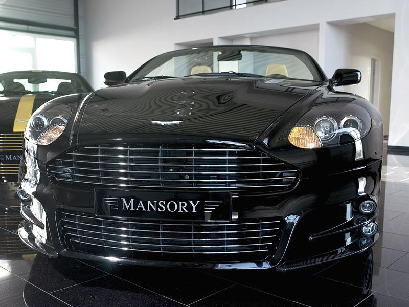 Aston Martin DB9: úpravy od Mansory pro kupé i Volante: - fotka 9