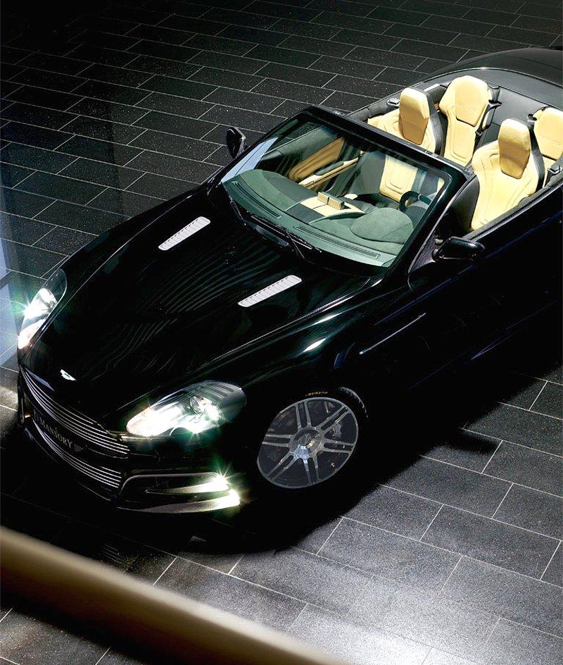 Aston Martin DB9: úpravy od Mansory pro kupé i Volante: - fotka 11