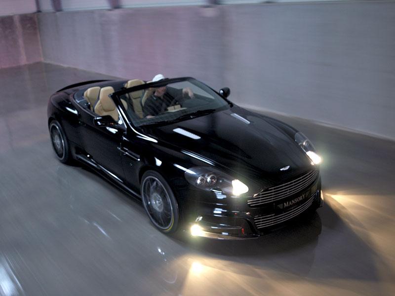 Aston Martin DB9: úpravy od Mansory pro kupé i Volante: - fotka 12