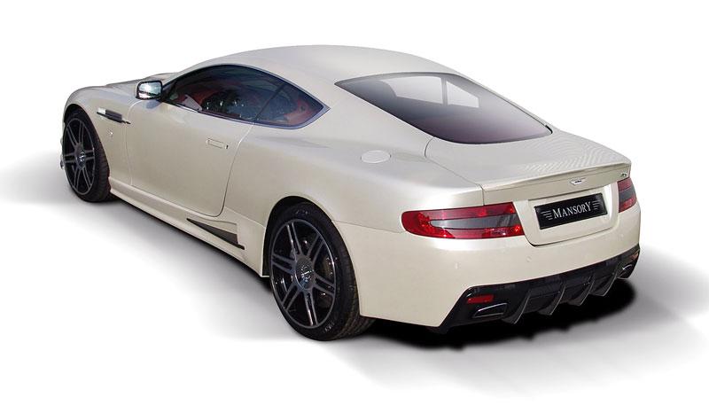 Aston Martin DB9: úpravy od Mansory pro kupé i Volante: - fotka 16