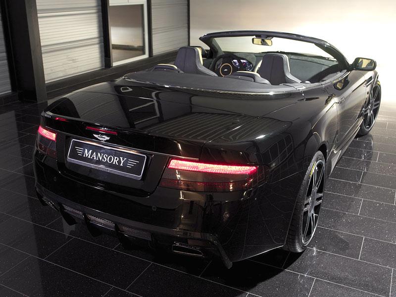 Aston Martin DB9: úpravy od Mansory pro kupé i Volante: - fotka 17