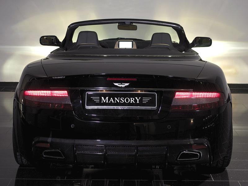 Aston Martin DB9: úpravy od Mansory pro kupé i Volante: - fotka 20