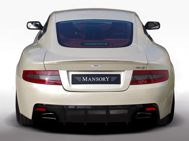 Aston Martin DB9: úpravy od Mansory pro kupé i Volante: - fotka 21