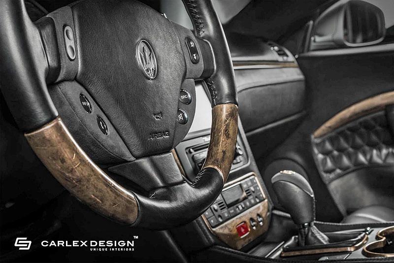 Maserati GranTurismo s nadčasovou elegancí v interiéru: - fotka 4