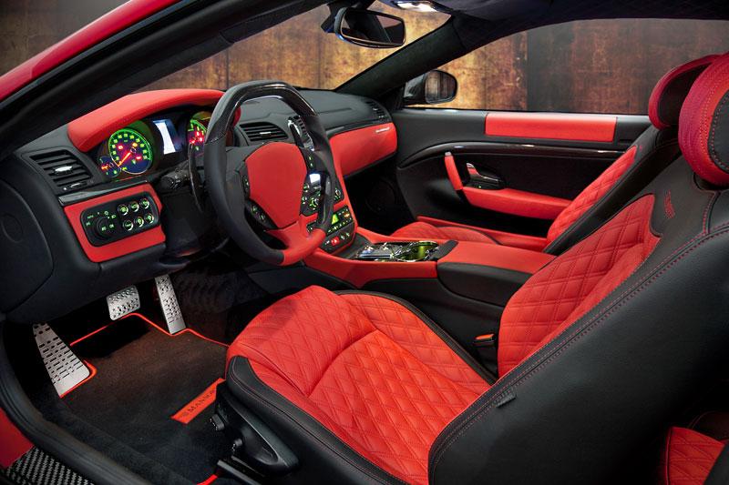 Maserati GranTurismo a GranTurismo S po zásahu Mansory: - fotka 3