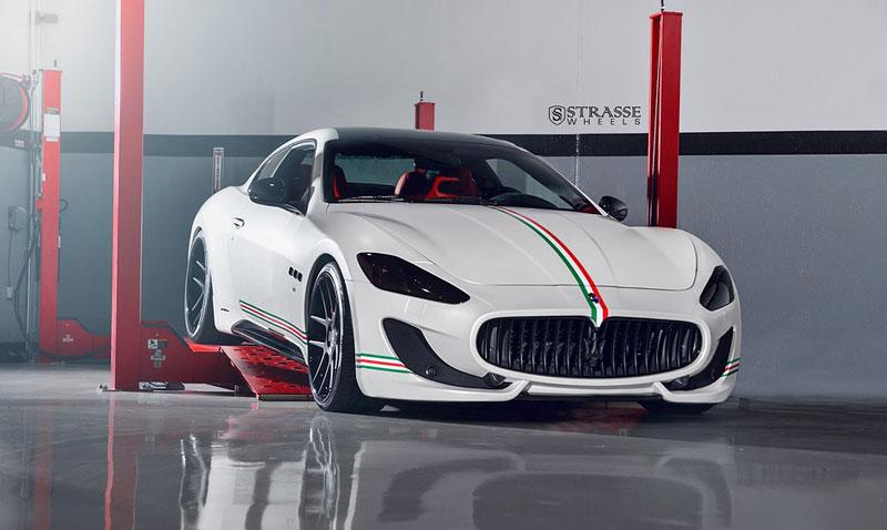 Maserati GranTurismo S od F355 Miami: Pro patrioty: - fotka 2