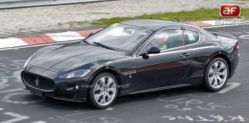 Spy Photos: Maserati GT v nové silnější verzi R?: - fotka 2