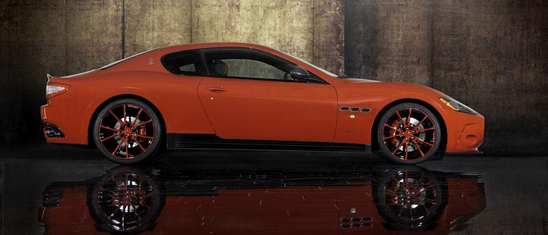 Maserati GranTurismo a GranTurismo S po zásahu Mansory: - fotka 9