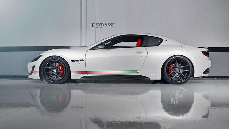 Maserati GranTurismo S od F355 Miami: Pro patrioty: - fotka 5
