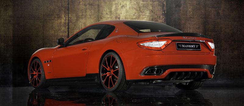 Maserati GranTurismo a GranTurismo S po zásahu Mansory: - fotka 10