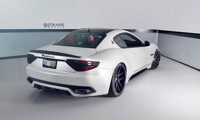 Maserati GranTurismo S od F355 Miami: Pro patrioty: - fotka 7