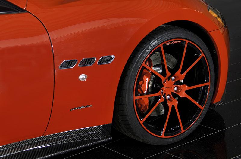 Maserati GranTurismo a GranTurismo S po zásahu Mansory: - fotka 17