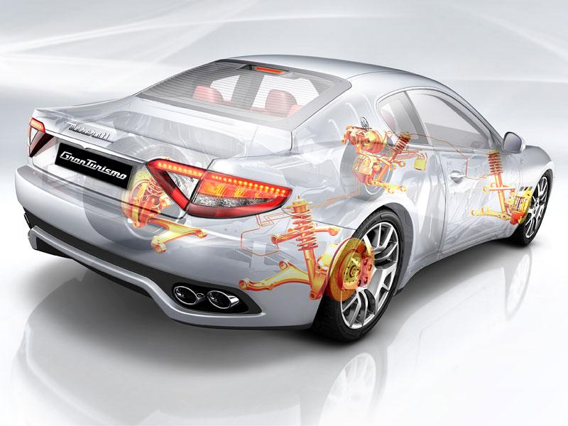 Pod lupou: Maserati GranTurismo – Poseidonova hračka pro velké cestování: - fotka 61
