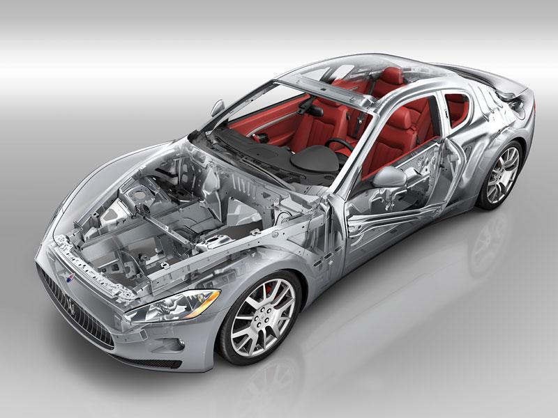 Pod lupou: Maserati GranTurismo – Poseidonova hračka pro velké cestování: - fotka 63