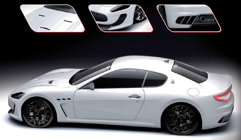 Maserati GranTurismo MC Corse Concept – další fotografie a video: - fotka 6