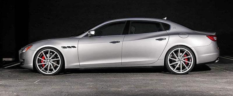 Maserati Quattroporte S Q4 s koly Vossen CVT: Stříbrný přízrak: - fotka 4