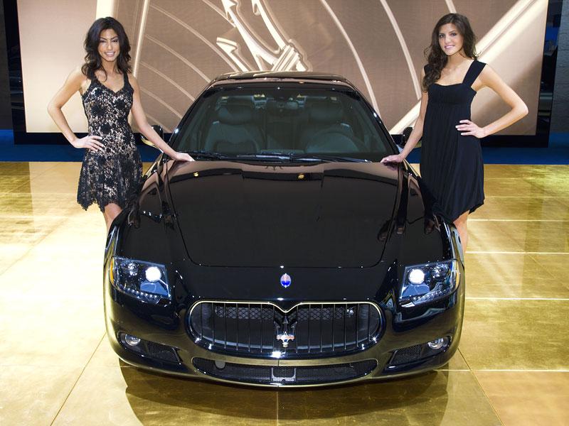 Detroit 2009: Maserati Quattroporte Sport GT S: - fotka 2