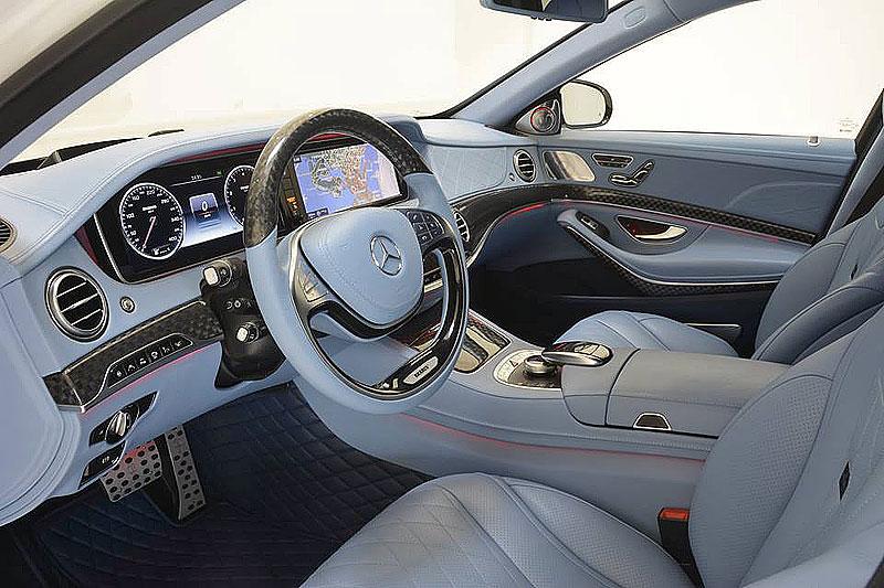 Mercedes-Maybach S 600 jako bílá raketa: - fotka 1