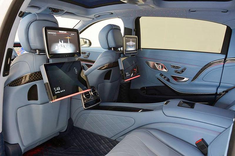 Mercedes-Maybach S 600 jako bílá raketa: - fotka 3