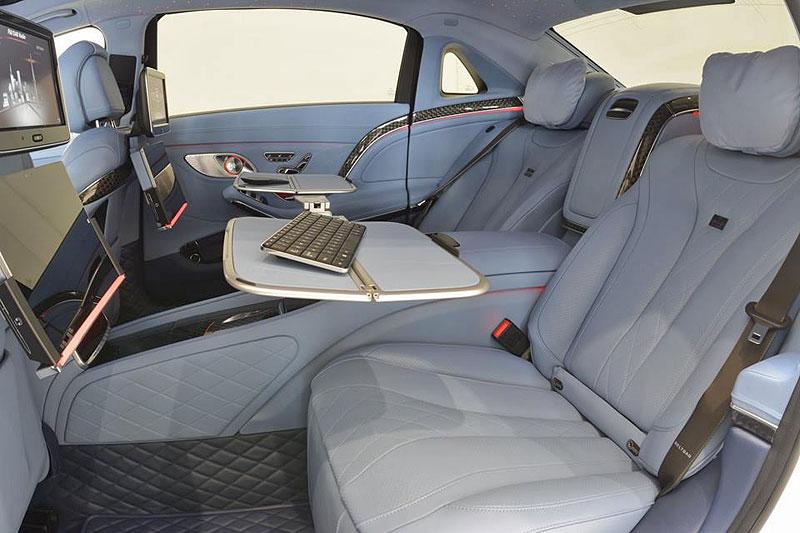 Mercedes-Maybach S 600 jako bílá raketa: - fotka 4
