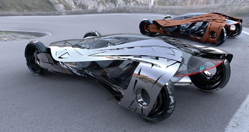 L.A. Design Challenge: 1000 lb car: - fotka 44
